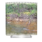 Dells Creekside Shower Curtain