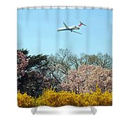 Delta Airlines Shower Curtain