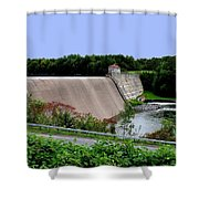 Delta Dam Shower Curtain