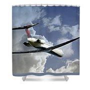 Delta Jet Shower Curtain