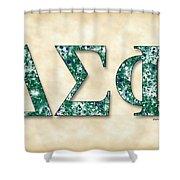 Delta Sigma Phi - Parchment Shower Curtain