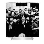 Democractic Delegates, 1920 Shower Curtain