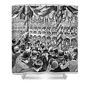 Democratic Convention Shower Curtain
