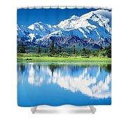 Denali National Park Ak Usa Shower Curtain