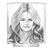 Denise Richards Shower Curtain