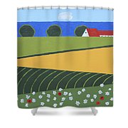 Denmark 5 Shower Curtain