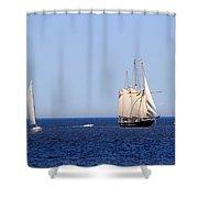 Dennis E Sullivan Shower Curtain