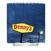Denny's  Shower Curtain
