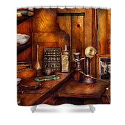 Dentist - Time For Your Next Appointment  Shower Curtain by Mike Savad