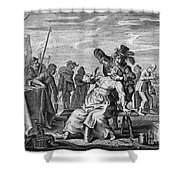 Dentistry, 18th Century Shower Curtain
