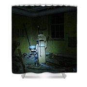 Dentists Chair Shower Curtain