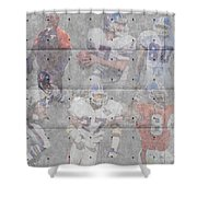 Denver Broncos Legends Shower Curtain