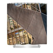 Denver Diagonals Shower Curtain