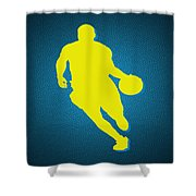 Denver Nuggets Ty Lawson Shower Curtain