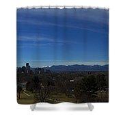 Denver, Colorado Skyline Shower Curtain