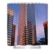 Denver Skyscraper Shower Curtain