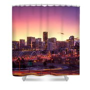 Denver Sunrise Shower Curtain