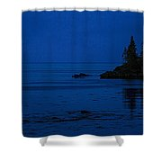 Departure Before First Light Shower Curtain