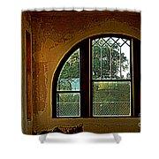 Depot Window Shower Curtain