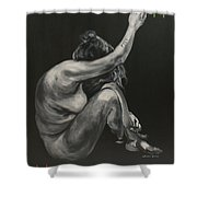 Depression- Uruz Shower Curtain
