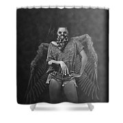 Derangel Shower Curtain