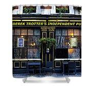 Derek Trotter's Pub Shower Curtain