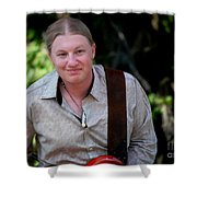 Derek Trucks Shower Curtain