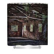 Derelict Building Shower Curtain