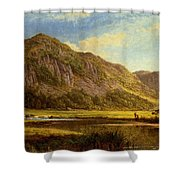 Derwent Water Cumberland Shower Curtain