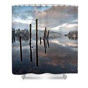 Derwentwater At Dawn Shower Curtain