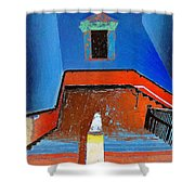 Descent Into Madness Shower Curtain