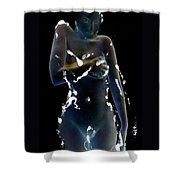 Desdemona - The Battle Scars Of Love Shower Curtain by Jaeda DeWalt