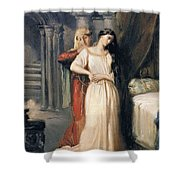 Desdemona Shower Curtain by Theodore Chasseriau