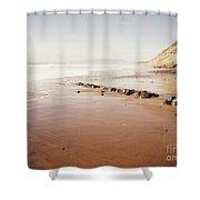 Desert Beach Shower Curtain