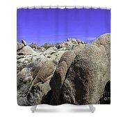 Desert Bolders Shower Curtain