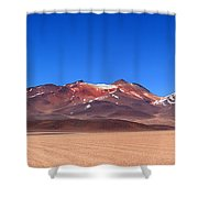 Desert Colours Panoramic Shower Curtain