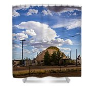 Desert Dome Shower Curtain