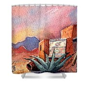 Desert Doorway Shower Curtain