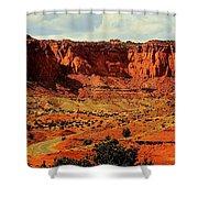 Desert Drive Shower Curtain