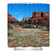 Desert Dwellers Shower Curtain