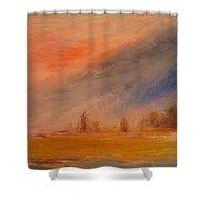 Desert Evening 03 Shower Curtain