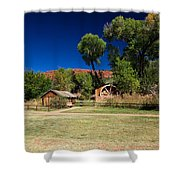 Desert Field Shower Curtain