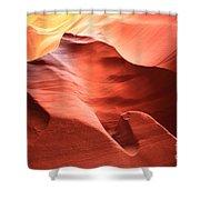 Desert Flames Shower Curtain