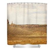 Desert Landscape2 Shower Curtain