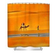 Desert Mirage Shower Curtain