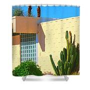 Desert Modern 7 Lakes Palm Springs Shower Curtain