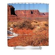 Desert Monuments Shower Curtain