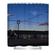 Desert Motel 2 Shower Curtain