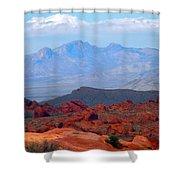 Desert Mountain Vista Shower Curtain