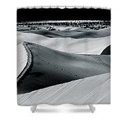 Desert Night Death Valley By Diana Sainz Shower Curtain